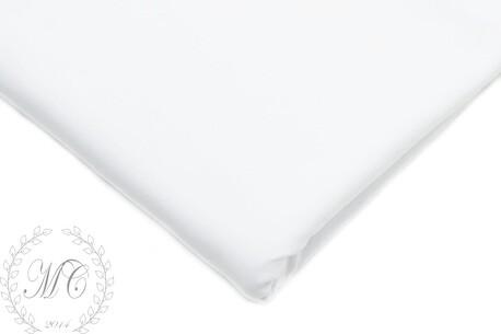 Dresówka pętelka gładka   (Biała) (1)